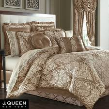 J Queen Brianna Curtains by Stafford Medallion Comforter Bedding By J Queen New York