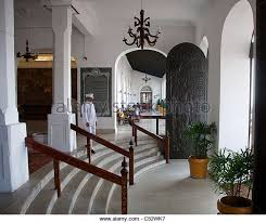 Foyer Of Galle Face Hotel With British Colonial Architecture Colombo Sri Lanka