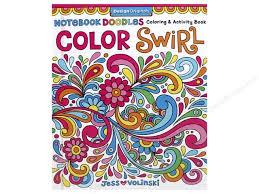 Design Originals Notebook Doodles Color Swirl Coloring Book