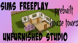 Sims Freeplay Second Floor Mall Quest by Sims Freeplay Unfurnished Studio House Tour Youtube
