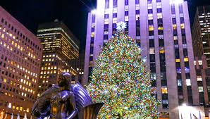 Christmas Tree Rockefeller Center Lighting by Holidays In New York City Rockefeller Center Christmas Tree O