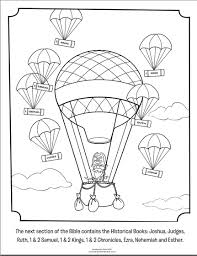 Historical Books Coloring Page