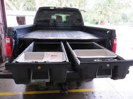 100 Slide Out Truck Bed Storage Deck Box Tool Boxes Diy Divider