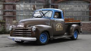 100 1952 Chevy Panel Truck Here Comes The Whiskey Opel POST