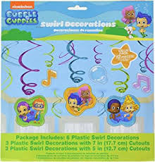Bubble Guppies Cake Toppers by Amazon Com 1 X 24 Bubble Guppies Cupcake Rings Designer Cake
