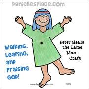 Peter Heals The Lame Man