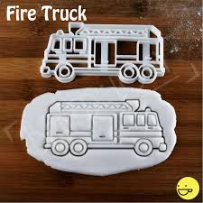 100 Fire Truck Cookie Cutter Hydrant Cookie Cutter Biscuit Cutters Etsy