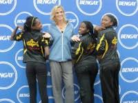 Bed Stuy Ymca by 5 Time Olympic Swimmer Dara Torres Makes A Splash At The Bed Stuy