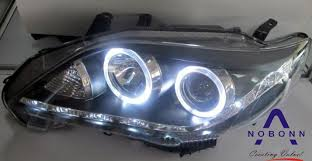 2007 2010 toyota corolla headlight with bi xenon projector