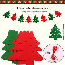 22M Christmas Tree Banner Hanging Decoration Tree Ornaments