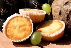 low carb limetten muffins mit kokosmehl