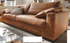 sofa 2 1 2 sitz ledersofa walnuss leder anilinleder naturbelassen gewachst lanatura