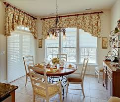 Home Design Splendid Valances For Dining Room Impressive Endearing Window 25699 At In Entranching