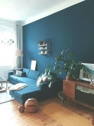 dunkle wandfarbe wohnzimmer streichen in petrol bedroom