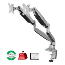 Vesa Desk Mount 100x100 by High Premium Aluminum Gas Spring Desk Mount Dual Monitor Vesa