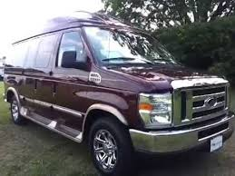 2012 FORD E 150 SHERROD HIGHTOP CONVERSION VAN GRANDSPORT FOR SALE CALL 888 439 8045