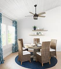 Dining Room With A Ceiling Fan
