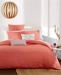 Coral Colored Bedding by Orange Bedding Decor By Color