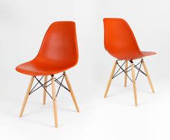 sk design kr012 orange stuhl buche