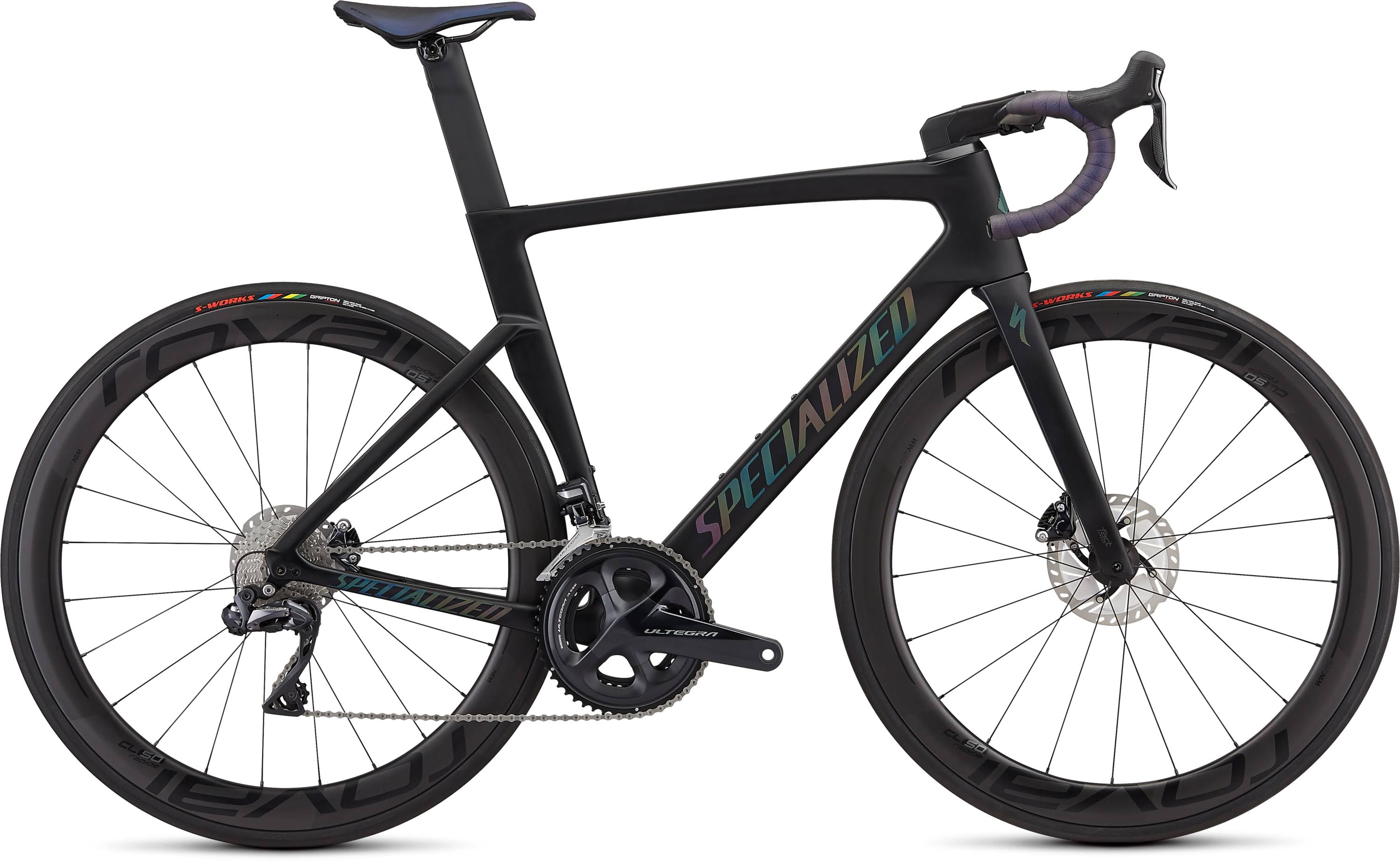 Specialized Venge Pro Satin Black/Holographic Black / 49