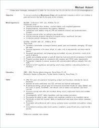 Warehouse Job Resume Summary Worker Objective Examples Of