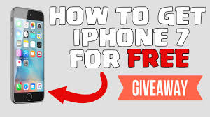 Free iPhone 7 Giveaway How to win a free iPhone 7 in 2016