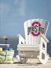 The Ohio State University Rocking Chair | NCAA | Rocking Chair ... Hardwood Rocking Chair Ohio State Jumbo Slat Black Ncaa University Game Room Combo 3 Piece Pub Table Set The Best Made In Amish Chairs For Rawlings Buckeyes 3piece Tailgate Kit Products Smarter Faster Revolution Axios Shower Curtain 1 Each Michigan Spartans Trademark Global Logo 30 Padded Bar Stool