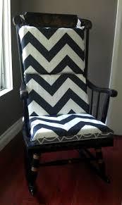 100 Greendale Jumbo Rocking Chair Cushion Bedroom Endearing Barrel Rocking Chair Cushions Chevron Black And