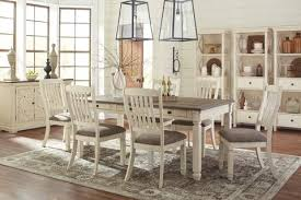 Find Ashley Bolanburg Antique White Table And 4 Side Chairs At Marlo Furniture