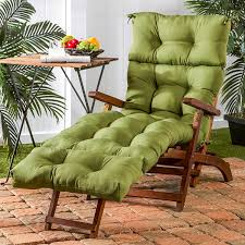 Amazon Patio Lounge Cushions by Amazon Com Greendale Home Fashions 72 Inch Patio Chaise Indoor