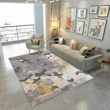 vlies filz non slip matte geometrische große größe wohnzimmer schlafzimmer teppich esszimmer küche eingang halle nordic teppich nach maß