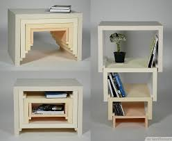 DIY Stackable Table Bookshelf Creative Furniture Design Bestpickr