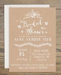 Kraft Bridal Shower Invitation Invitations Wedding Rustic Themed Printable 2457431