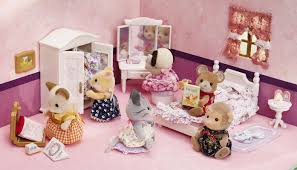 calico critters s lavender bedroom set at growing tree toys