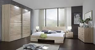 lifestyle4living schlafzimmer 4 tlg eiche sägerau dekor mit