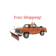 100 Truck With Snow Plow Revell GMC Pickup With Plastic Model Kit EBay