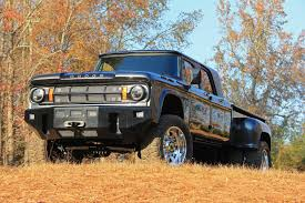 100 Dodge Dually Trucks This 1969 D200 Power Wagon Mega Cab Is OneofaKind The Drive