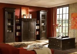 wohnwand anbauwand wohnzimmer set indigo 4 teilig