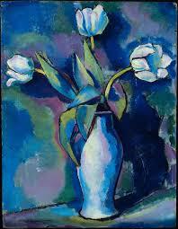 Three White Tulips 1912 Charles Sheeler American