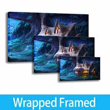 Pintura Artística Impresión En HD Paisaje Decoración De Oficina Casa Trine 2 Noches Arte Enmarcado En Lienzo Listo Para Colgar Personalización