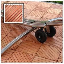 vifah outdoor wood deck tiles brown target