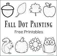 Do A Dot Coloring Pages Art Summer Kids Activities Printable Pdf Page