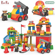 124PCS Big Size Building Blocks Duplo City Fire Station Truck Blocks ... 124pcs Big Size Building Blocks Duplo City Fire Station Truck Lego Duplo Town 10592 Buildable Toy For 3yearolds New Fire Complete 1350 Pclick Uk 4977 Amazoncouk Toys Games At John Lewis Partners Vatro 7800134 Links Lego In Radcliffe Manchester Gumtree Macclesfield Cheshire My First 6138 Unboxing Review For Kids With Flashing Cwjoost