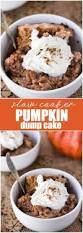 Easy Pumpkin Desserts by Slow Cooker Pumpkin Dump Cake Simply Stacie
