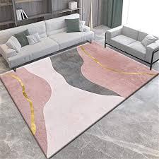 de kunsen zimmer deko wohnzimmer teppich rosa
