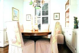 Shabby Chic Dining Chair Slipcovers Custom Parsons Decorations For Baby Shower