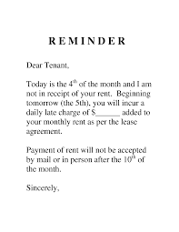 Late Rent Notice Letter Sample Image Gallery ImgGrid Late Rent