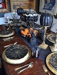 Awesome Halloween Table Ideas Pictures Decorations