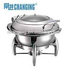 Round Hydraulic Induction Chafer For Buffet Chafing Dish