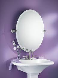Bathroom Tilt Mirror Hardware by Amazon Com Moen Dn2692bn Glenshire Bathroom Oval Tilting Mirror